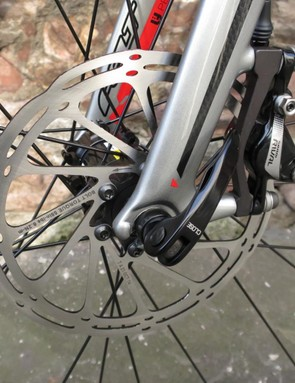 …and post mount at the front