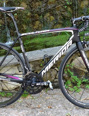 The Merida Scultura 4 team bike is lighter, lower, longer and more aero than the previous model