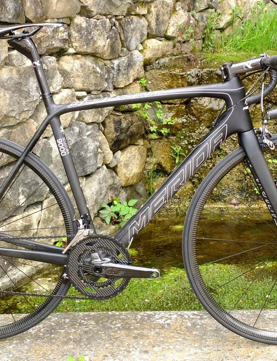 The world's lightest production road bike, the Merida Scultura 9000 LTD