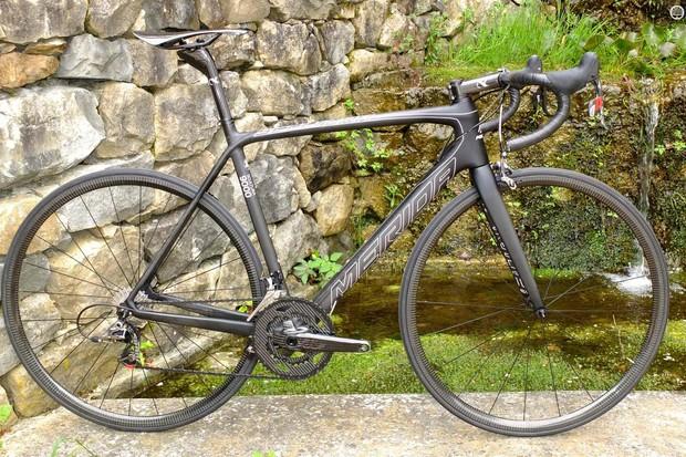 The world's lightest production road bike, the Merida Scultura 9000 LTD