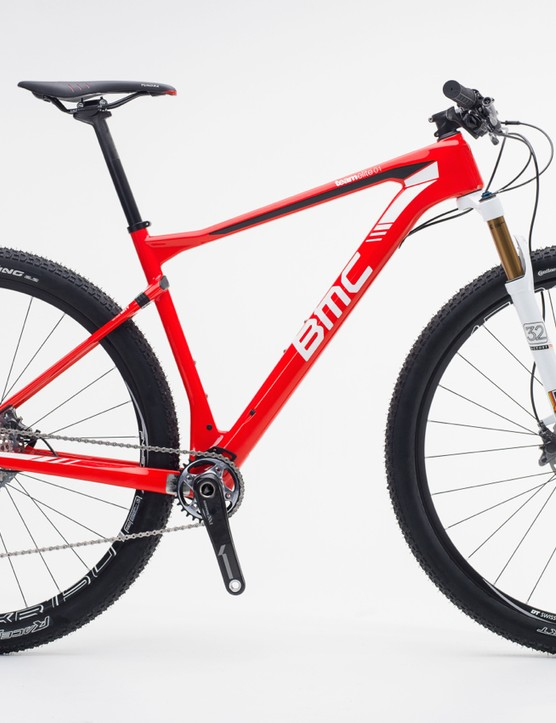 The BMC Teamelite 01, a hardtail with a little rear suspension