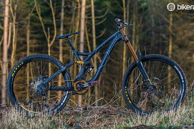 It may be 'entry-level' as DH bikes go, but the Fuzz 2 is fun, sorted and dependable
