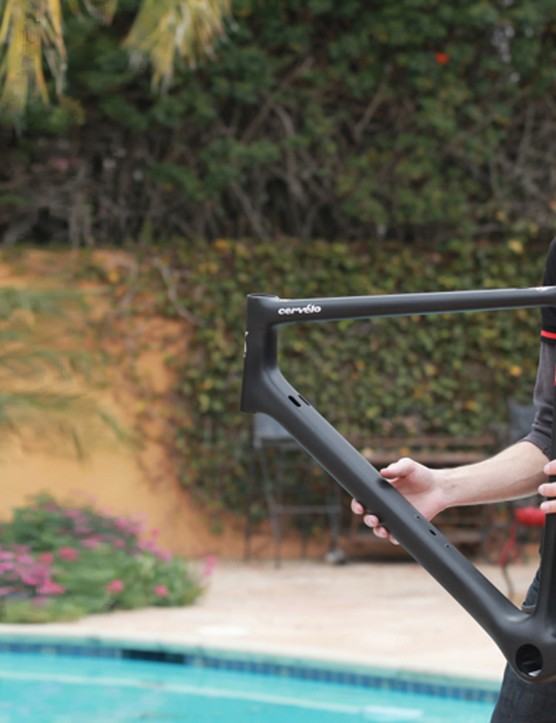 Cervelo only expected to sell 325 RCa frames, the company making no profit out of the project