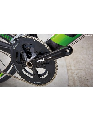 Praxis Works chainrings work with hollowed-out Oval cranks