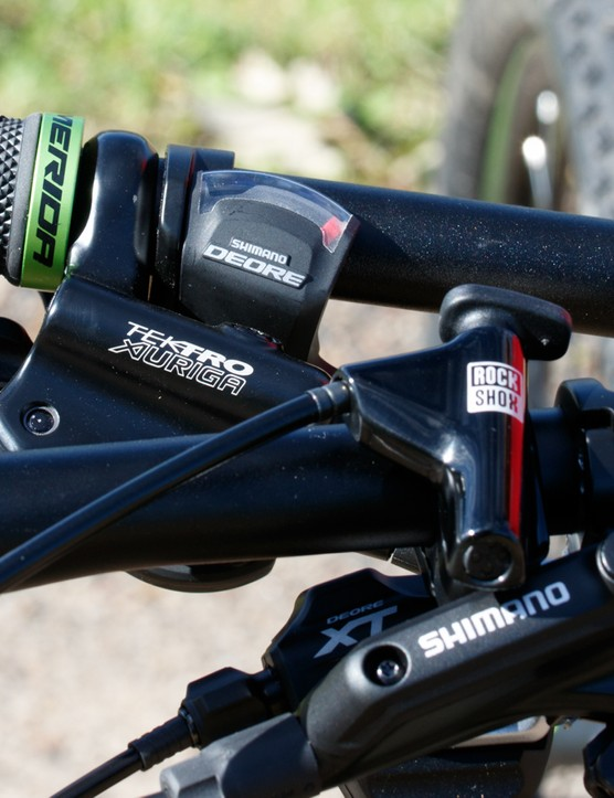 Higher end components are the key advantage for the hardtail