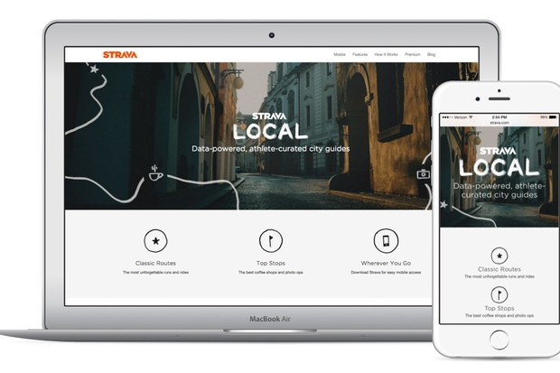 Strava local is available on both desktop and mobile