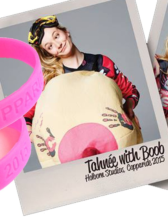 Tahnee Seagrave has teamed up with breast cancer charity Coppafeel to bring you #Copparide