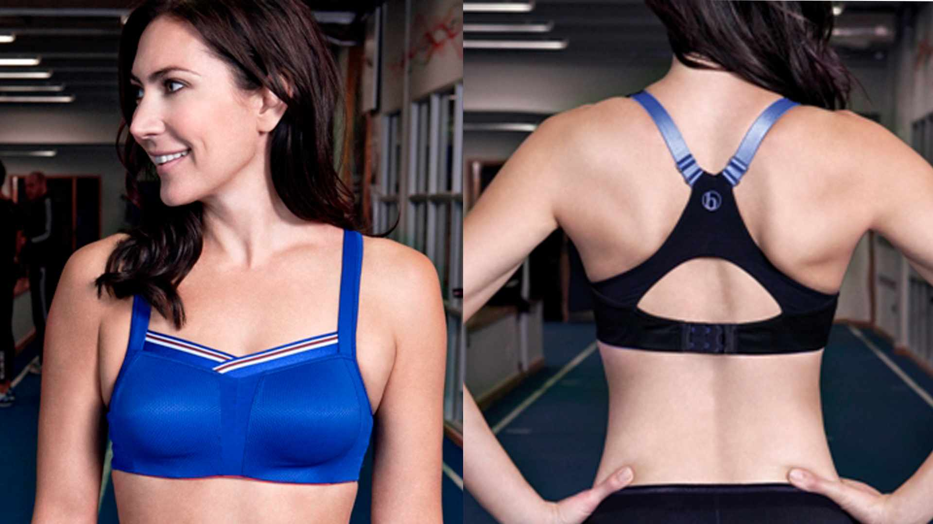 It's worth investing time and money finding a sports bra that fits you well