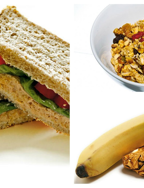 Read our advice on the best carbs to eat to power up your cycling