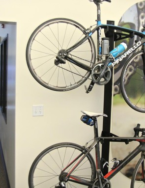 The Stages office is filled with cycling nuts and, therefore, bikes