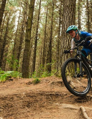 The Specialized Rhyme women's trail bike is ready for whatever you're willing to throw at it