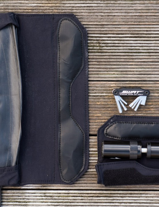 Models with the SWAT Door also include two soft wraps to look after your spares, and your frame