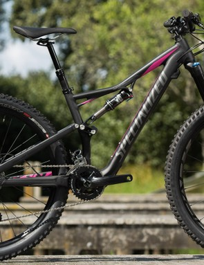 The M5 alloy Rhyme Comp (pictured) and the Rhyme Comp Carbon both run a 2x10 drive train