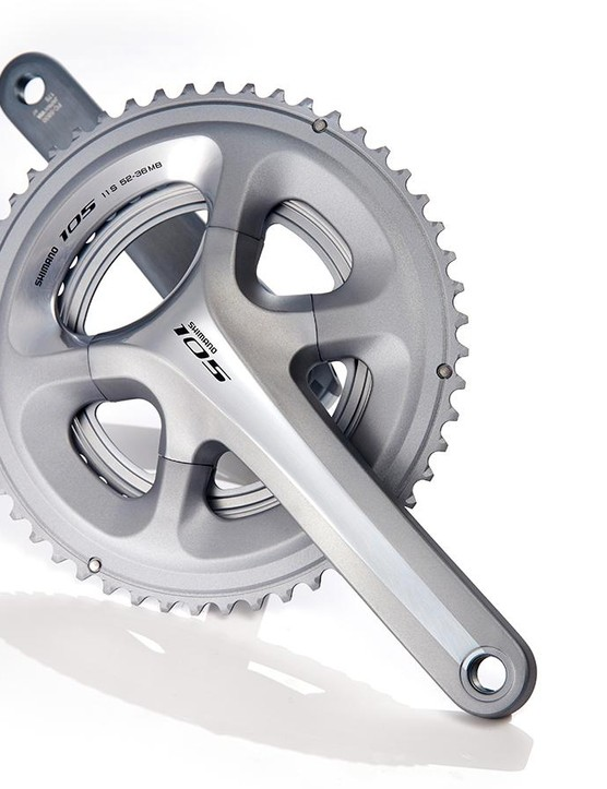 Shimano 105 is a supremely trusty groupset, and the top-value cranks fit in perfectly