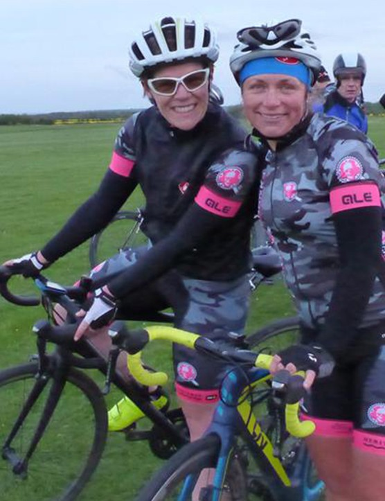 Resplendent in her Crankettes team kit, Sabrina has transformed herself and found friends through cycling