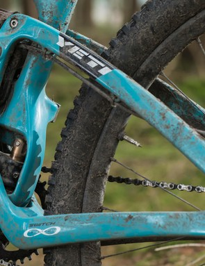 Yeti's Switch Infinity suspension system has already racked up a number of Enduro World Series wins