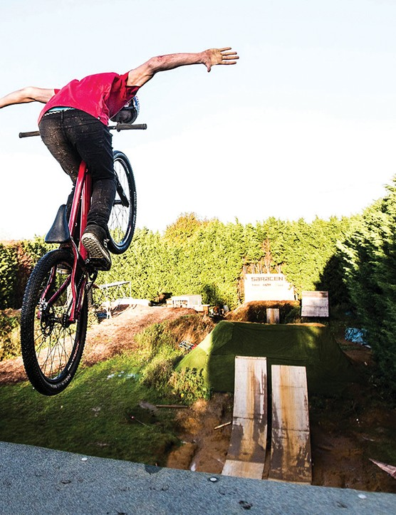 Matt Jones dropping in to the 'compound'