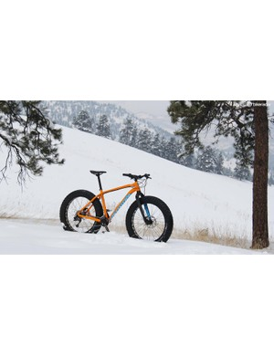 The Fatboy is one of five Specialized fatbikes