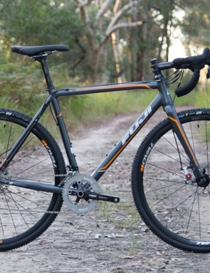 The 2015 Fuji Cross 1.3 Disc is for the cyclocross racer on a budget (dry trail as pictured not included)