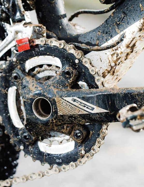 FSA's Comet double chainset is a functional bit of kit