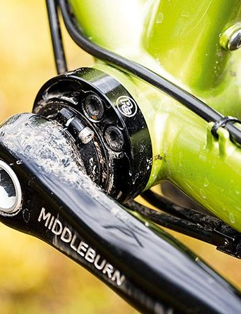 Middleburn cranks round out the high-end spec