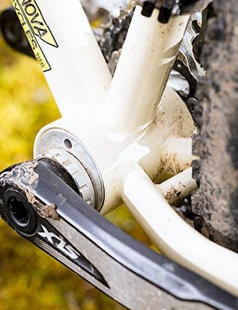 'Eccentric bottom bracket' might sound like a euphemism for incontinent millionaires, but it just means that converting to singlespeed is easy