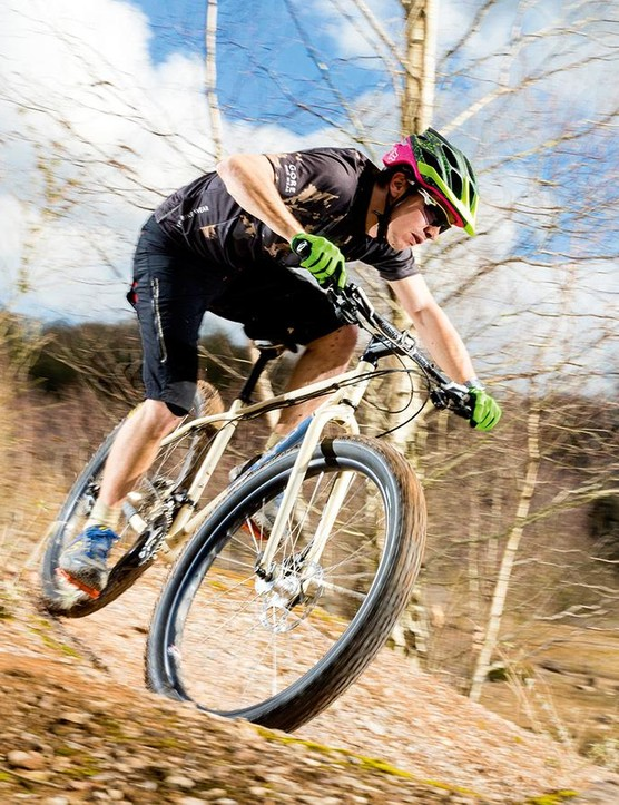 The Swift proved a capable descender –though it was when tackling complex climbs that it really shone