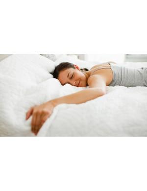 Getting a good night's sleep can help you banish the bulge