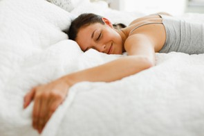Getting a good night's sleep can help you banish the bulge