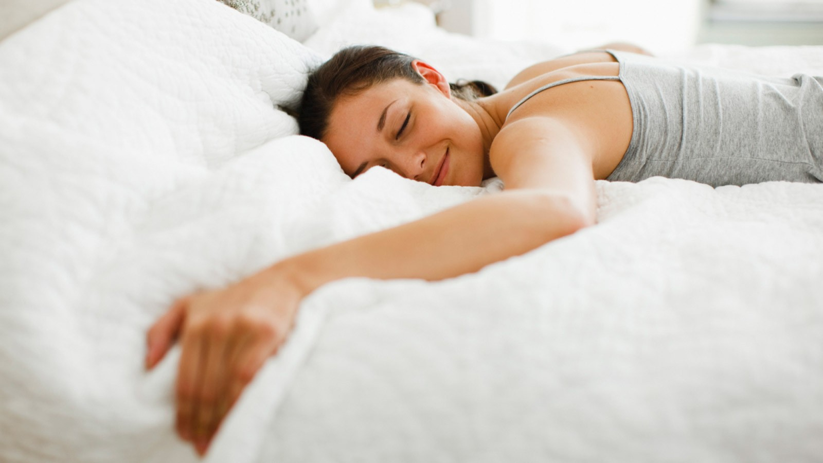 Getting a good night's sleep is also an important part of weight loss