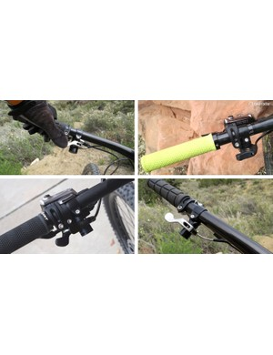 Lindarets says the ReMount works best for pivoting cable actuated dropper post remotes like from Specialized, KS, Thomson, and Giant. The slim clamp will even accommodate trigger shifters