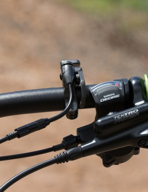 The Tektro brakes do the job, but won't suit those with small hands and have a vague feel at the lever