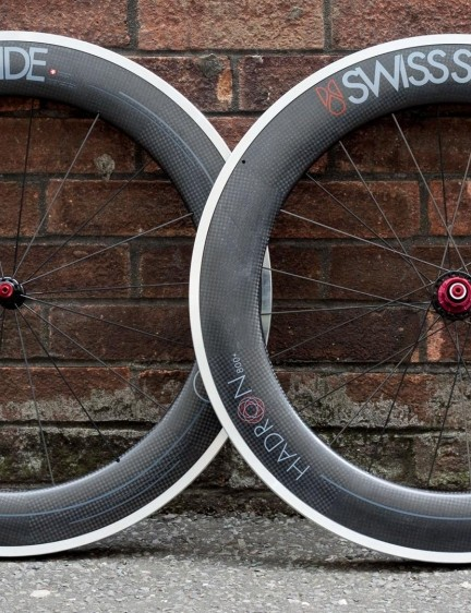 Swiss Side Hadron 800+ aero wheels