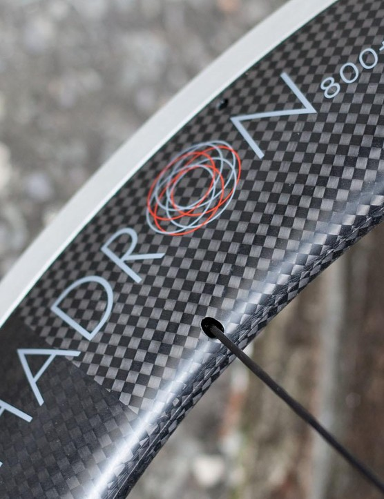 The Hadron 800+ are the deepest wheels in the range at 800mm