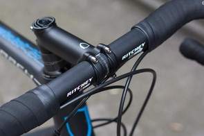 The finishing kit is all proven stuff from the Ritchey stable