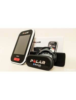 The Polar V650 is also available as a bundle with heart rate strap (as tested) for £210 / US$319 / AU$449. The packaging is certainly premium too