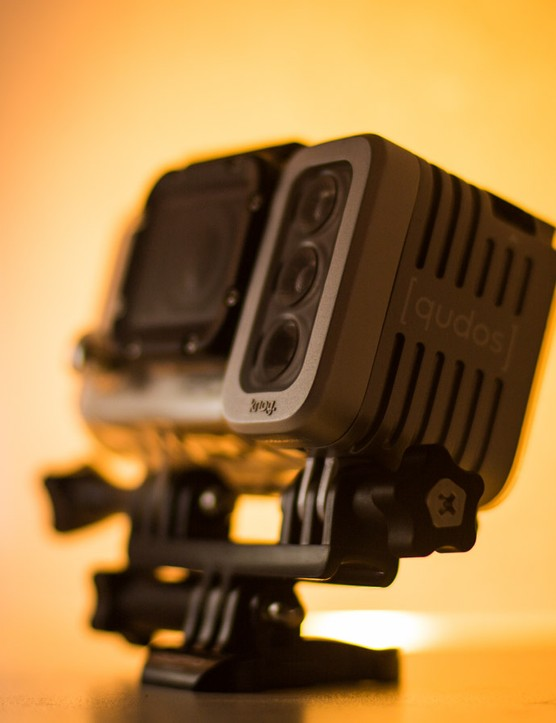 Built tough, the Qudos can stand up to just as much abuse as the action cameras it complements