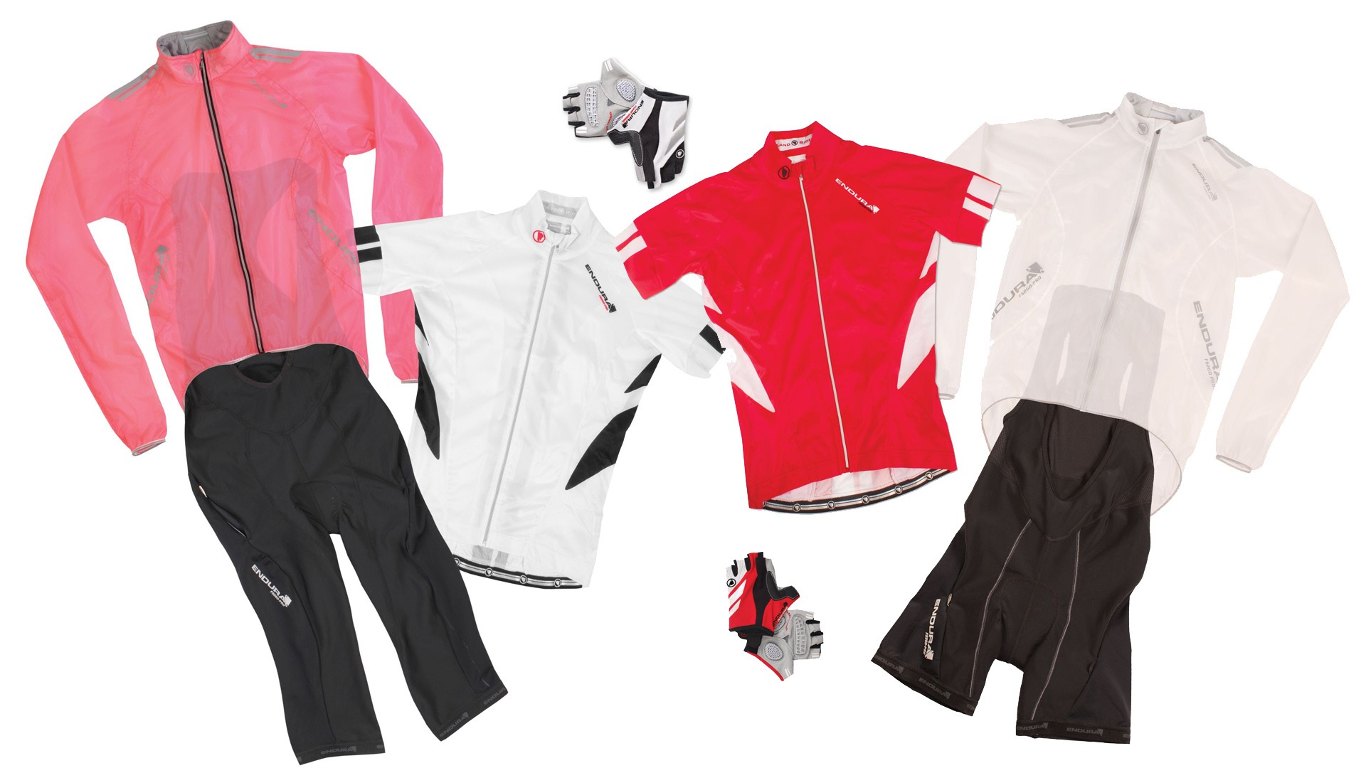 The women's road range includes FS260-Pro Bib Shorts, Jetstream Jersey, and Adrenaline Race Cape