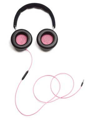 The headphones use the same materials as Rapha's other high-end kit