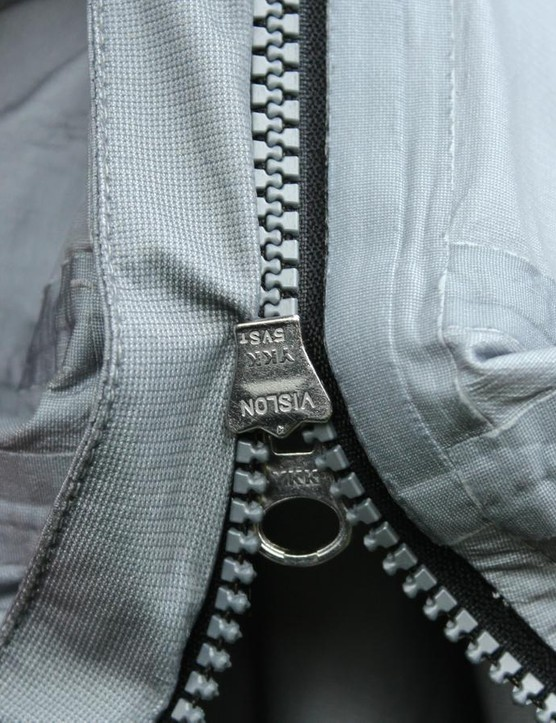 My only real frustration with the jacket is the zipper jamming on the backing material — which I eventually just cut off