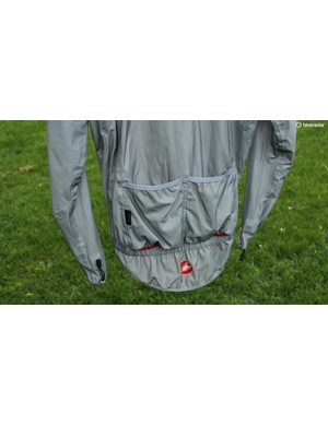 Although they seemed odd at first —'why do you need pockets on a rain jacket?' - I used the pockets quite a bit. For instance, rainy days often deliver flat tires —and jamming the flat tube in a pocket is easier than packing it back into a saddle bag