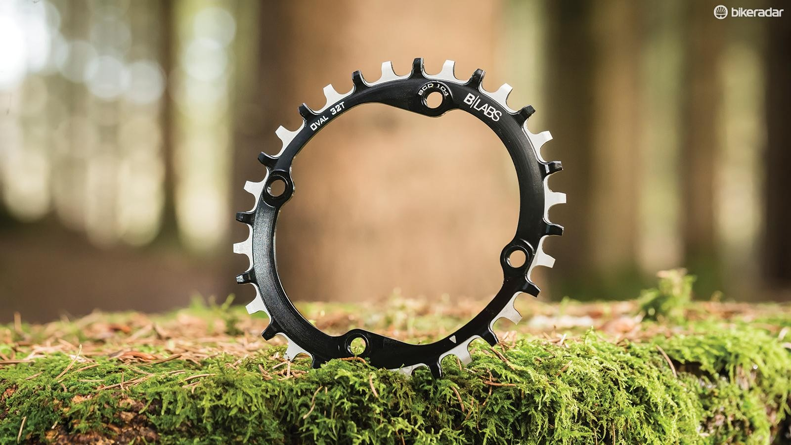 B Labs oval chainring