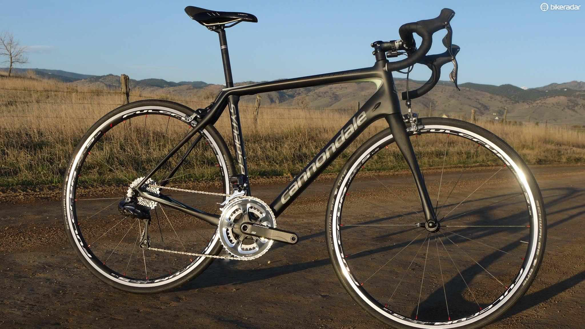 Cannondale's Synapse Carbon Women's Ultegra Di2 hits a real sweet spot between performance and comfort