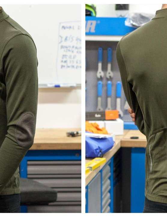 Isadore's long sleeved jersey in Olive Green
