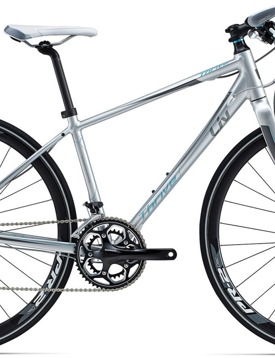 The Liv Thrive 0 Disc (AU$1,499) is pitched as a performance hybrid and fast commuter