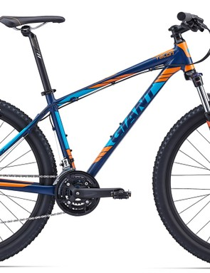 Very 'Giant' in its paint, the Talon 27.5 4 will sell for AU$749. This is a new release of a model we tested back in 2014