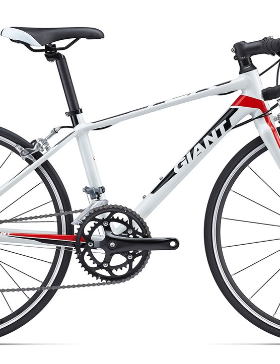 For the eager young ones is the TCR Espoir 24 - 24in wheels and 16speed Shimano Claris gearing