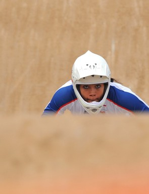 BMX champion Shanaze Reade suggests doing hill reps to build up strength