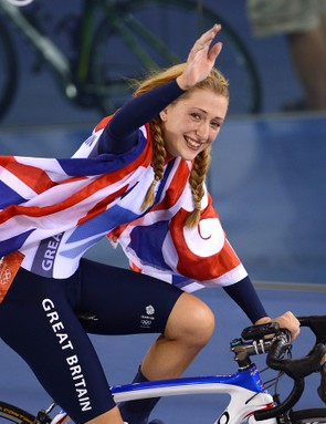 Laura Trott advises pacing yourself at the start of an event, picking up the pace later on if you can
