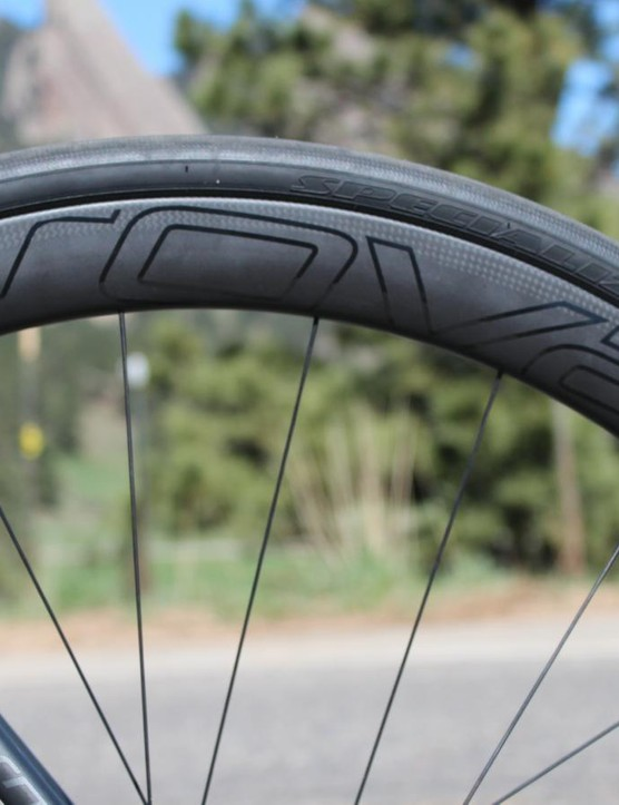 Specialized's Roval wheels have come a long way, from pretender to contender. The CLX 40 clinchers are fast in the wind and, thanks to discs, unaffected by the wet